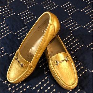 SAS 7M Gold Loafer
